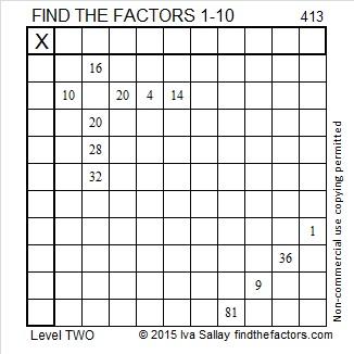 413 Puzzle