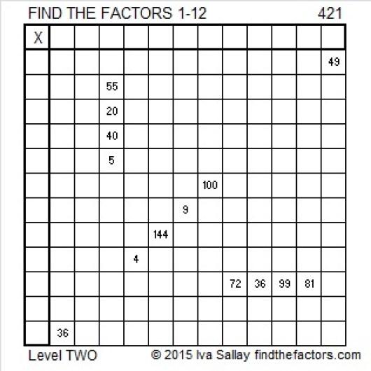 421 Puzzle