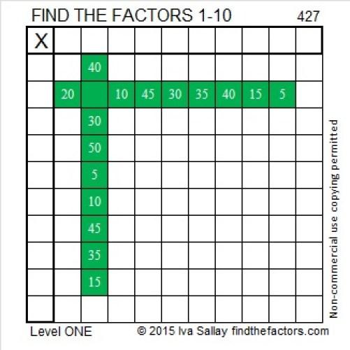 427 Puzzle