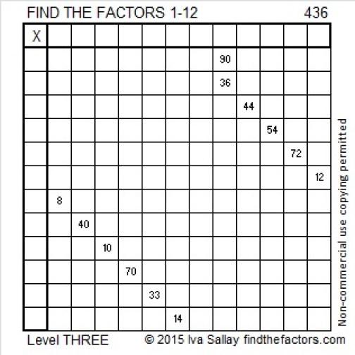 436 Puzzle