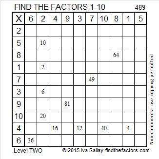 489 Factors