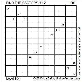501 Puzzle