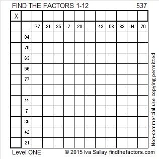 537 Puzzle