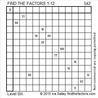 542 Puzzle