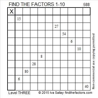 588 Puzzle