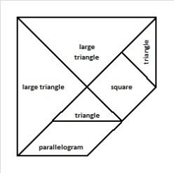tangrams minus medium triangle