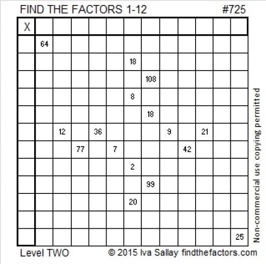 725 Puzzle