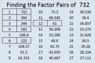732-factor-pairs