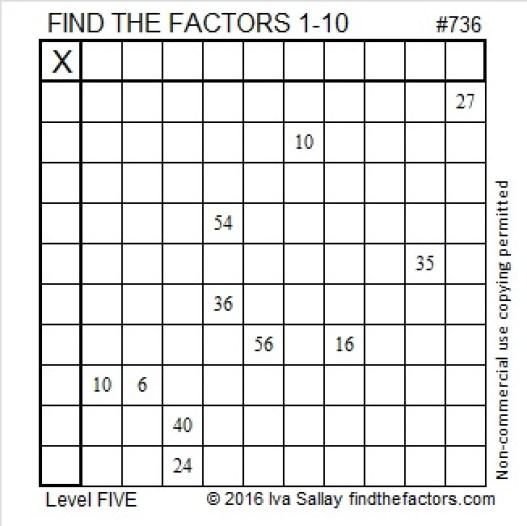 736 Puzzle