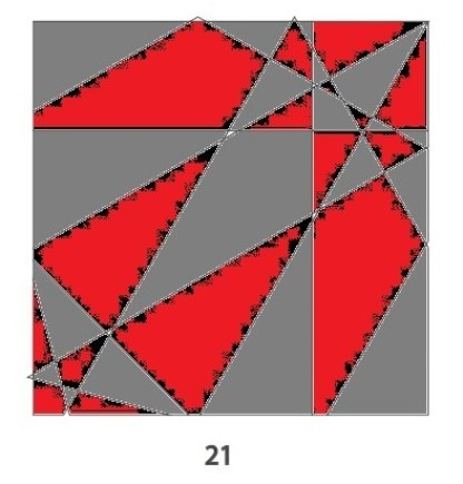 Tile 21 red