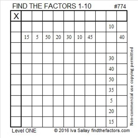 774 Puzzle