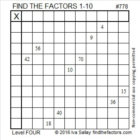 778 Puzzle