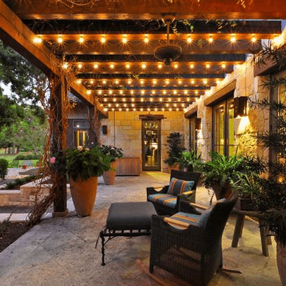 3 spectacular outdoor string lights to