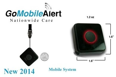 wireless mobile medical alert from livewell, the gomobile alert
