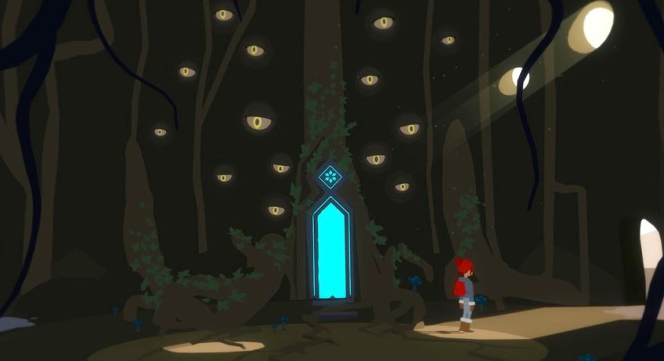 Roki - Tove asks the Tree of Many for advice