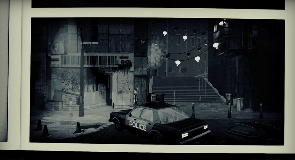 the dark streets in Liberated