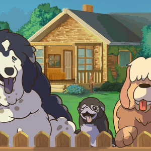 August indie game release Old Friends Dog Game