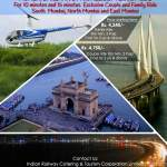 Fly over Mumbai by Chopper [Helicopter ride for family]