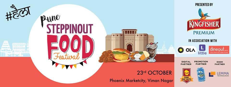 SteppinOut Food Festival - Phoenix MarketCity, Pune, 23 Oct 2016