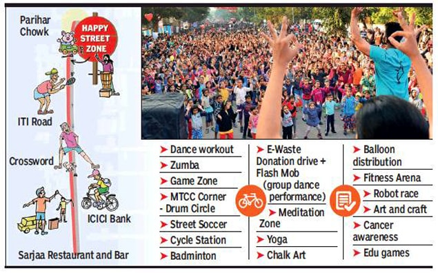 Happy Street Pune 2018