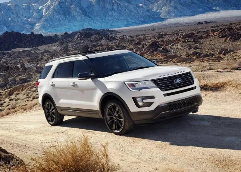 Ford Explorer - Best 6 Passenger SUVs 2020