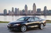 2020 Chevy Impala Sedan Dimensions & Trunk Size