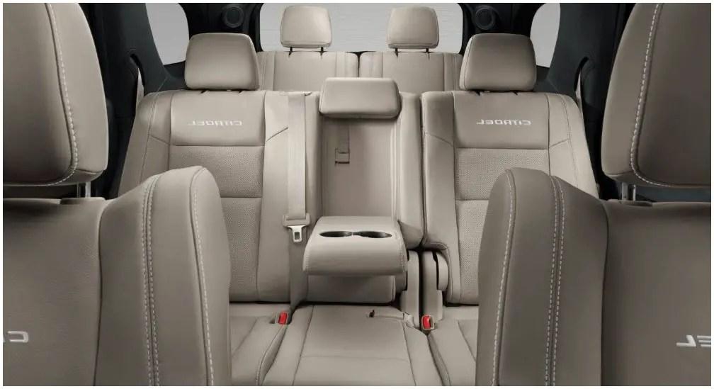 2020 Dodge Durango Interior Capacity