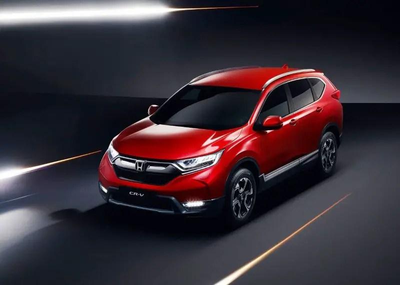 2020 Honda CR-V Hybrid Dimensions & Volume