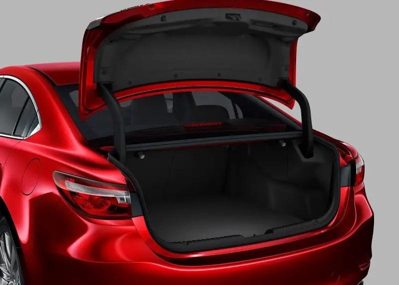 2020 Mazda 6 Cargo Capacity