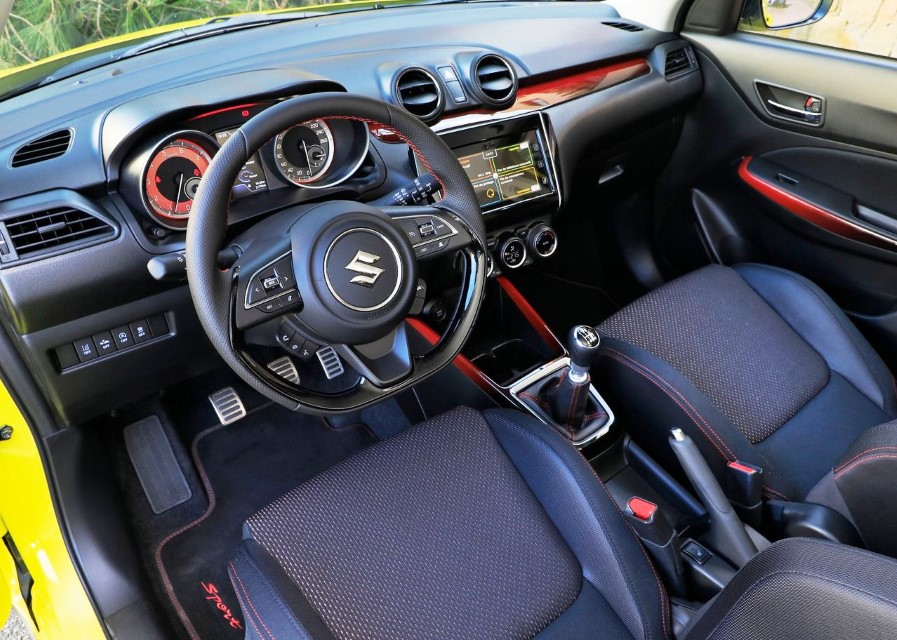 2020 Suzuki Swift Sport New Features