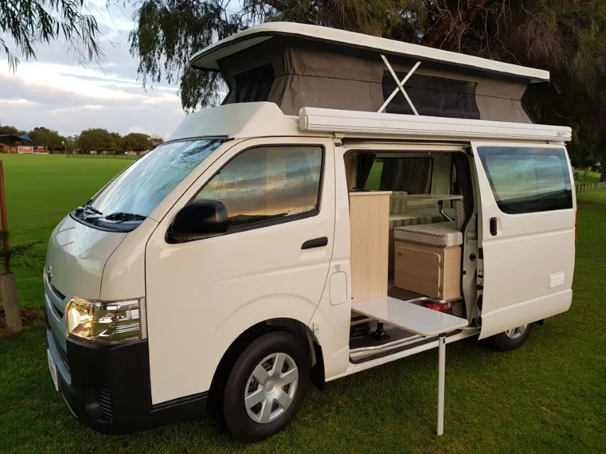 Toyota Hiace Van For Camper Conversion