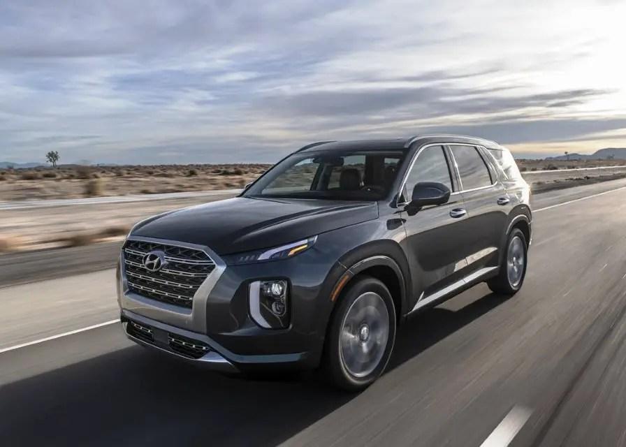 2020 Hyundai Palisade Accelerations