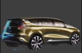 2020 Renault Espace 7 Seater Van Concept