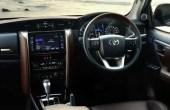 2020 Toyota Fortuner Facelift Interior Updates