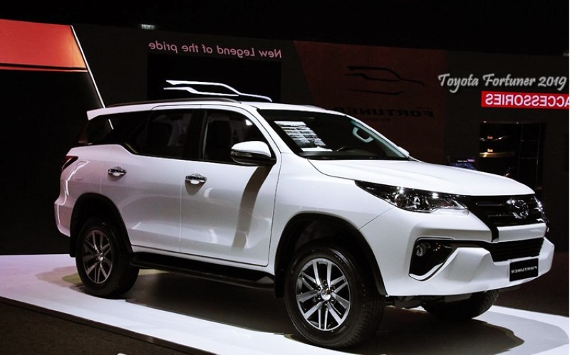 upcoming 2020 toyota fortuner facelift release date