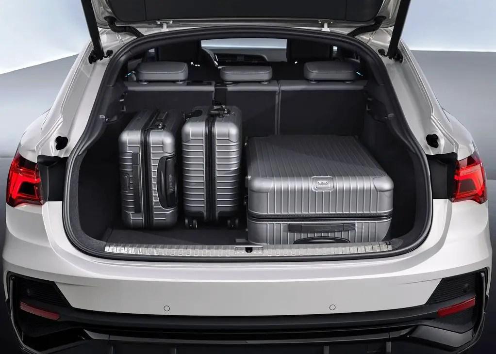 2020 Audi Q3 Trunk Capacity