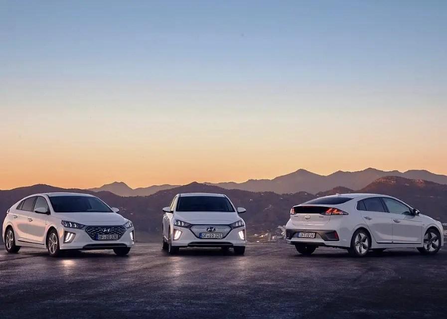 2020 Hyundai Ioniq Configurations