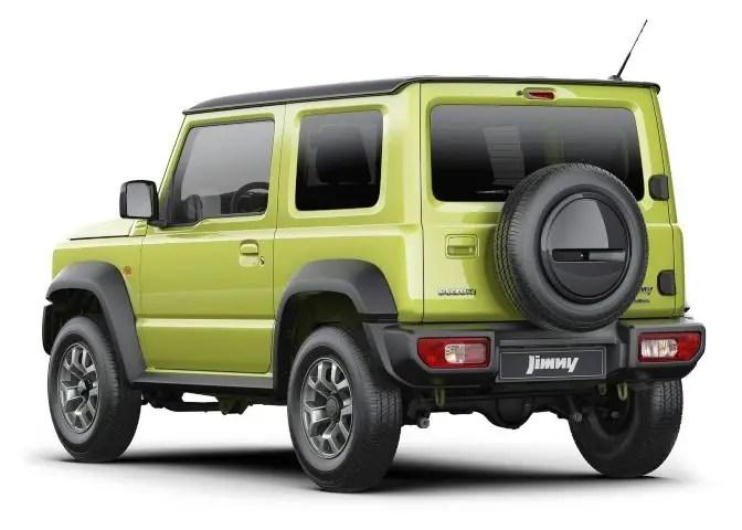 2020 Suzuki Jimny Dimensions & Size