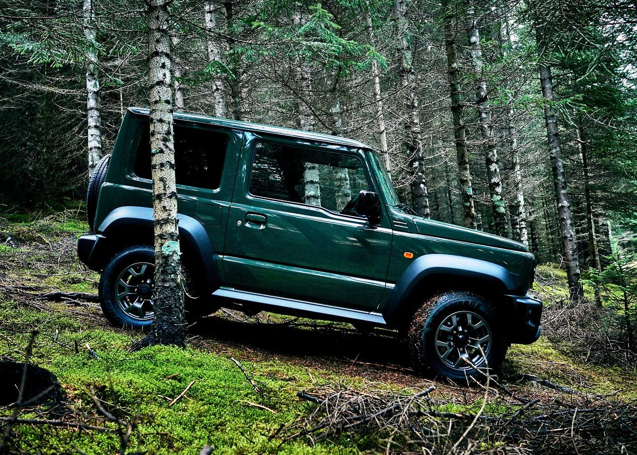 2020 Suzuki Jimny Off-Road Test With Gas Mileage