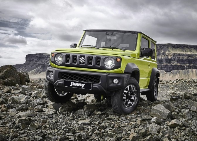 2020 Suzuki Jimny Offroad Capabilities With ALLGRIP PRO