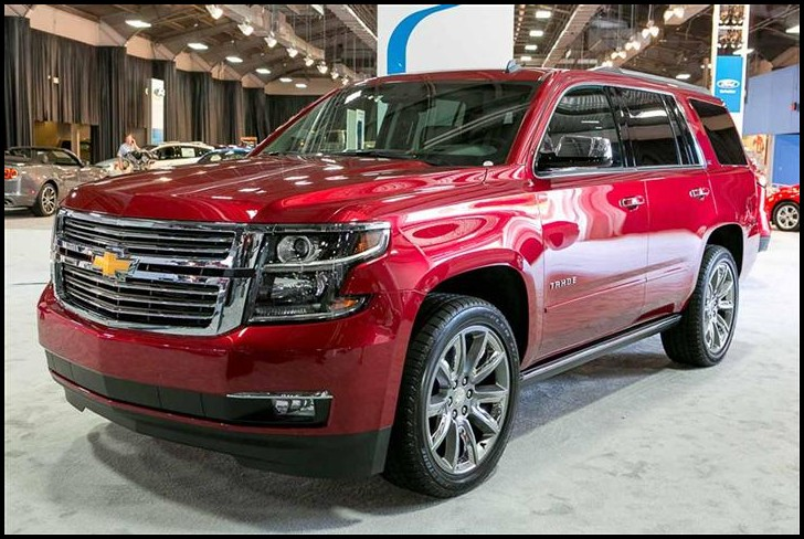 New Chevrolet Tahoe Concpet 2020 Model Year
