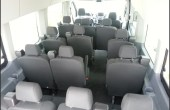 2019 Ford Transit 15 Passenger Van Luggage Space