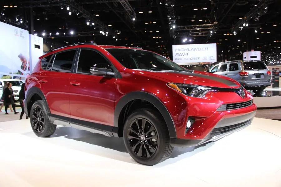 2019 Toyota RAV4 Hybrid Exterior Changes