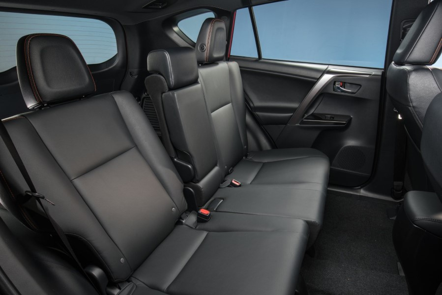 2019 Toyota RAV4 Hybrid Seating Interior Capacity