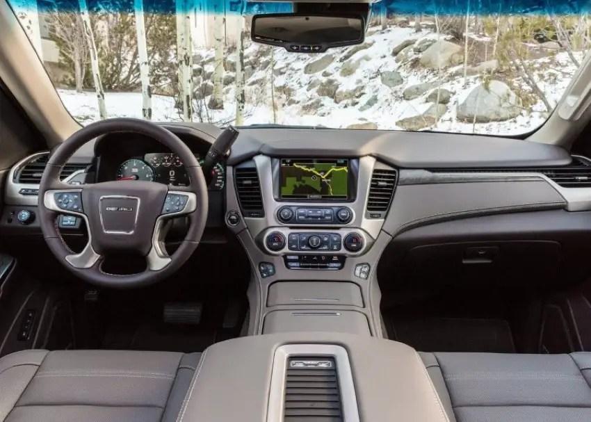 2020 GMC Yukon Denali XL Interior