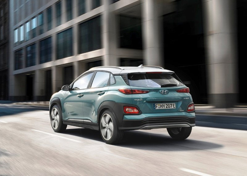 2020 Hyundai Kona Electric 0-100
