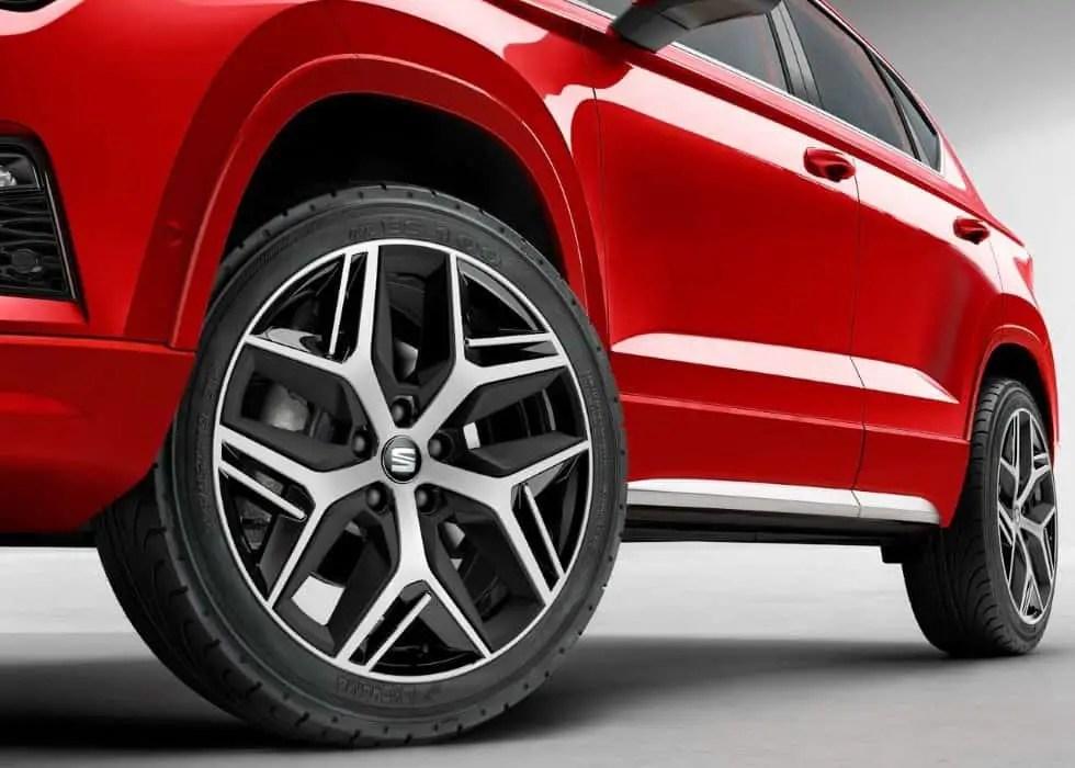 2020 Seat Ateca TGI All Wheel Drive Option