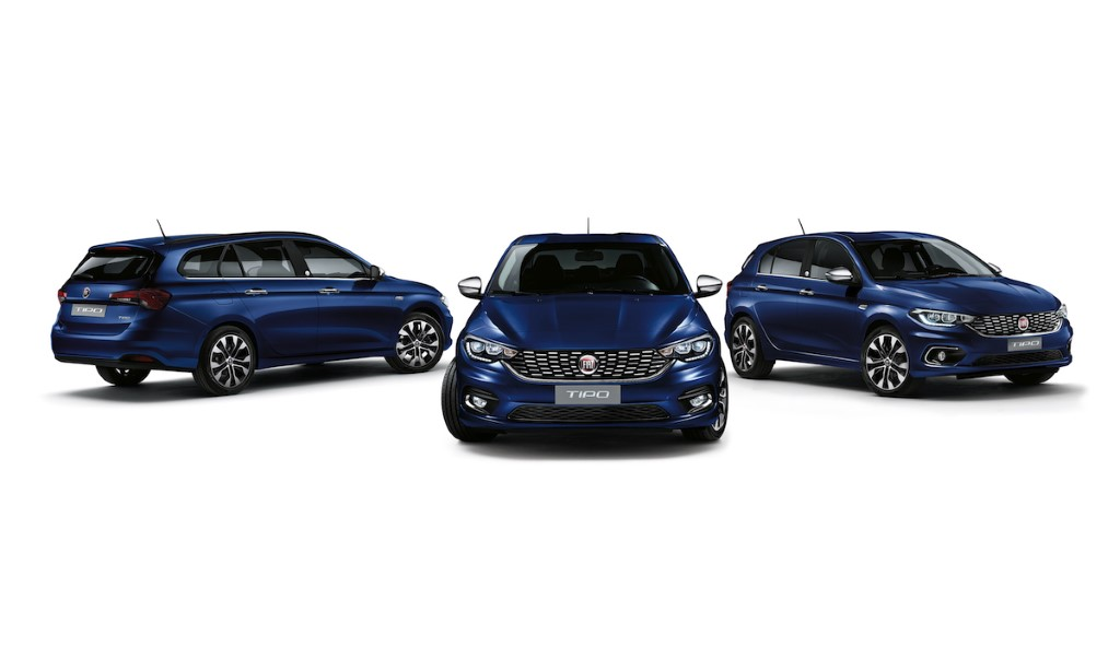 2020 Fiat Tipo Configurations & Price