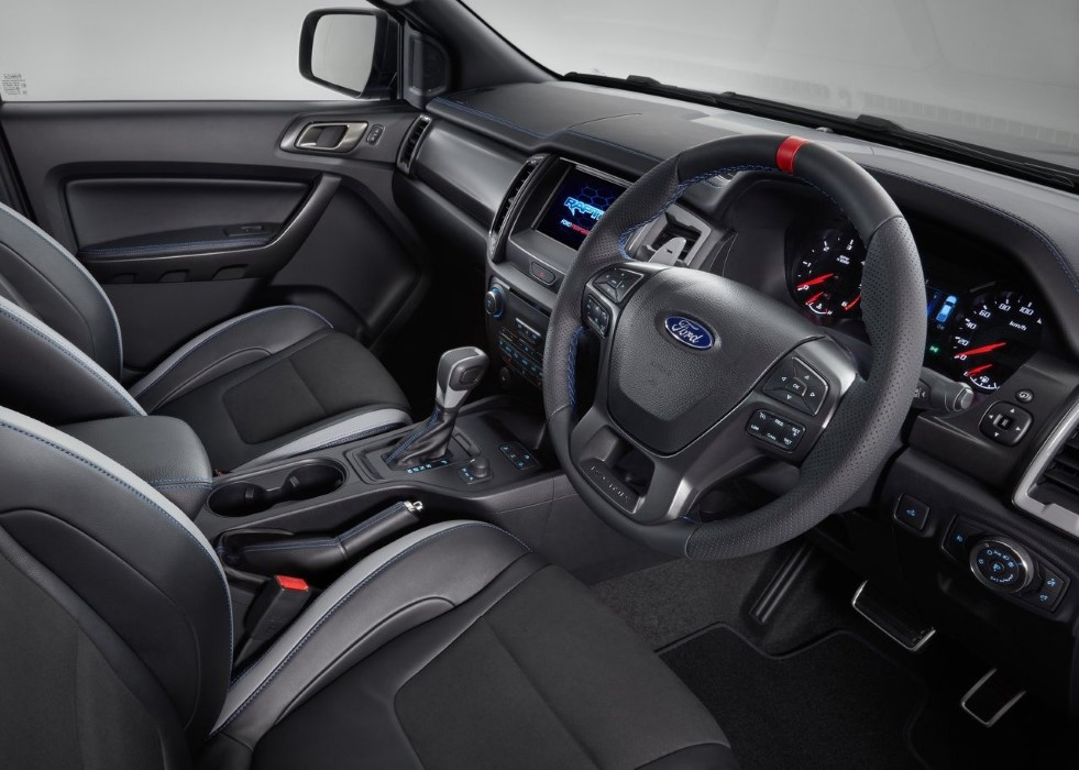 2020 Ford Ranger Raptor Interior Features Update