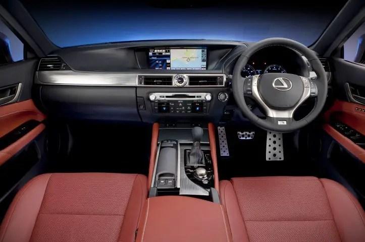 2020 Lexus GS 350 Interior Concept